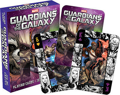 Marvel Guardians of the Galaxy Playing Cards Deck - Misc