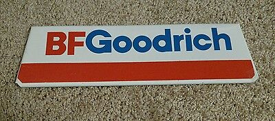 Vintage B F Goodrich Metal Tire Stand Advertising Display Sign