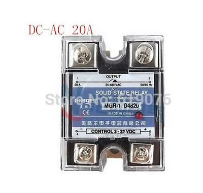 Mager SSR 20A DC-AC Single Solid state relay Quality Goods MGR-1 D4820 1 order