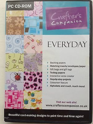 Crafters Companion Everyday Double Cd Rom