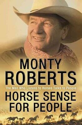 Horse Sense for People by Monty Roberts Paperback Book (English)