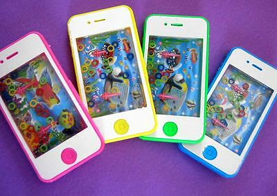 Bulk Lot x 10 Water Puzzle Mobile Phone Under The Sea Game Kids Toys Party Favor