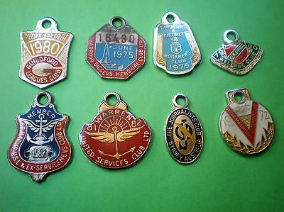 MIXED CLUBS BADGES.( postage & package FREE.