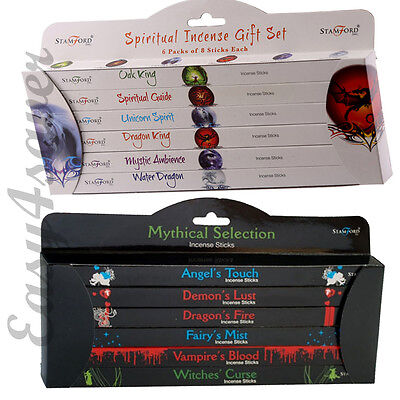 Stamford Gift Set Of 96 Incense Sticks - Spiritual And Mythical