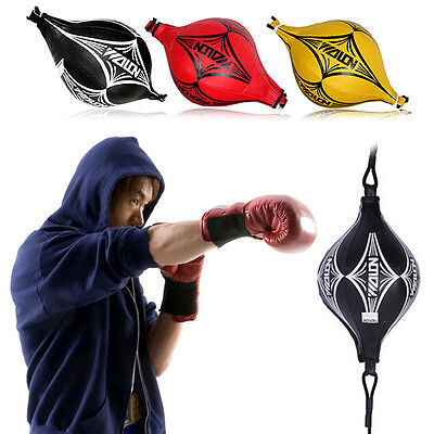 Hot Training Punching Bag Double End MMA Boxing Kick Floor to Ceiling Speed Ball