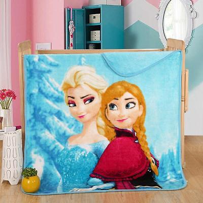 New Cartoon Flannel Kids Blanket Baby Throws Smooth Mats/Rugs Free Fast Shipping