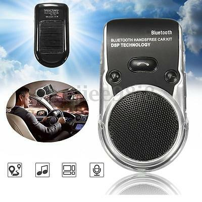 Kit Lcd Solare Vivavoce Bluetooth Per Auto Universale Speaker Smartphone Tablet