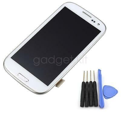 For Samsung Galaxy S3 i9300 Full LCD Touch Screen Glass Digitizer Frame Assembly