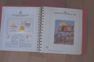 Olympic games 1992 Album jeux olympiques barcelone albertville