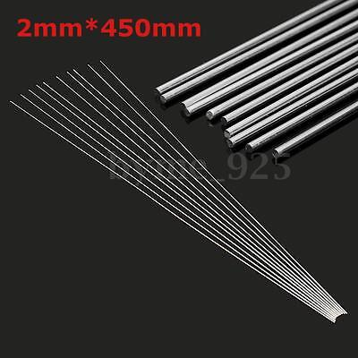 10x 2mm Aluminium Low Temperature Welding Brazing Rod For all AL Parts 45cm