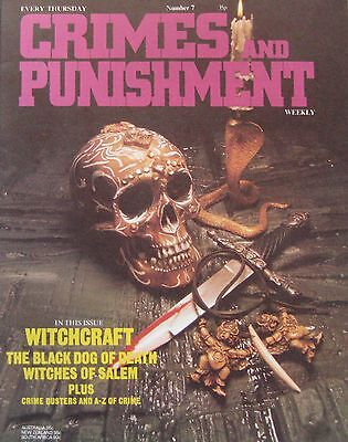 Crimes and Punishment magazine Issue 7 - Witchcraft