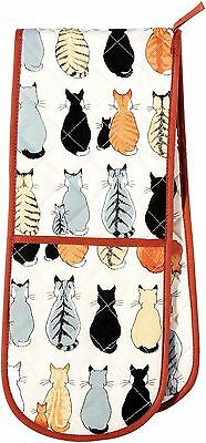 Ulster Weavers Cats In Waiting Double Oven Cotton Glove Heat Proof Teapot 7CAW03