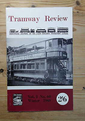 """""""The Tramway Review"""" Vol 8 No 60 Winter 1969 (South London)"""