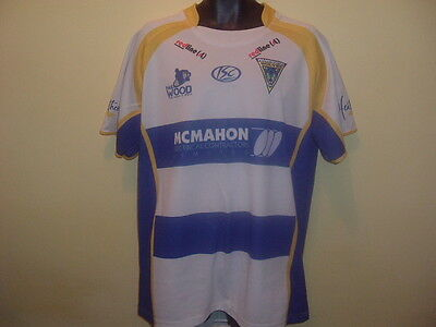 PAUL WOOD Limited Edition WARRINGTON WOLVES Testimonial Shirt 2010 (2XL)