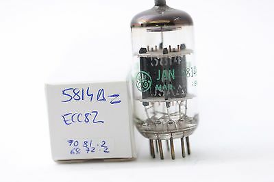 Jan 5814A - Ecc82 Tube. General Electron Brand Tube. Nos Tube. Rc115