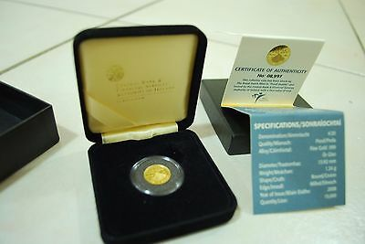 Fine Gold Proof Coin; Skellig Michael (Ireland) 20 Euros
