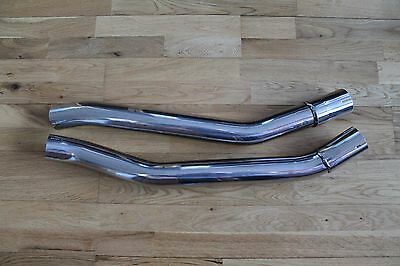 Kawasaki ZZR1400 Aftermarket Stainless Steel Exhaust Link Pipes - Custom Build?