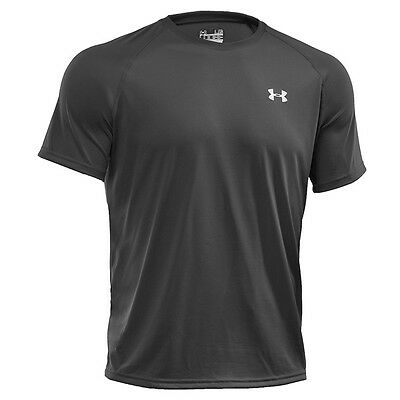 Under Armour Tech Short Sleeve Tee T-Shirt black 1228539-001 Sport Freizeit