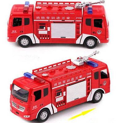Kids Toy Fire Truck Electric Flashing Lights