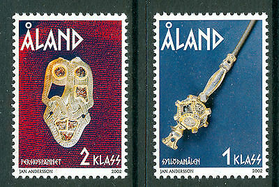 ALAND 2002 stamps The Iron Age Antiquities um (NH) mint