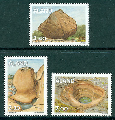 ALAND 1995 stamps Traces of the Inland Ice II Geology Definitives um (NH) mint