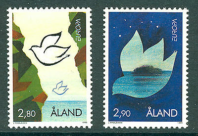 ALAND 1995 stamps Europa Peace & Liberty um (NH) mint