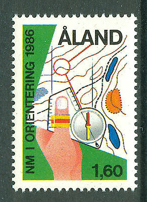 ALAND 1986 stamp Nordic Orienteering Championships um (NH) mint