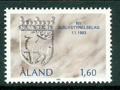 ALAND 1993 stamp The New Autonomy Act um (NH) mint