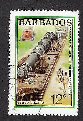 1979 Barbados 12c HARP space project SG640 GOOD USED R31344