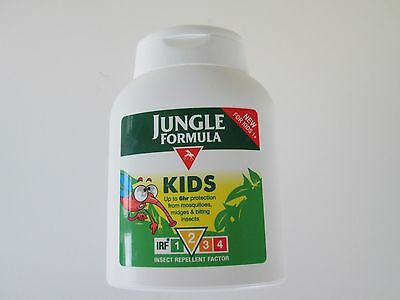 JUNGLE FORMULA Kids INSECT REPELLENT FACTOR 2 Lotion 125 ml NEW/UNUSED