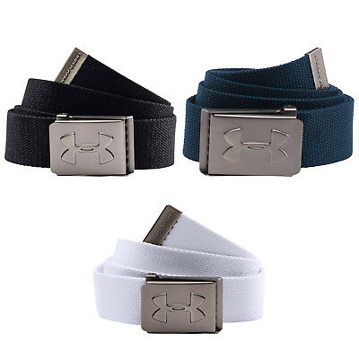 Under Armour Junior Webbing Belt - New Ua Golf Boys Youth Buckle Adjustable 2017