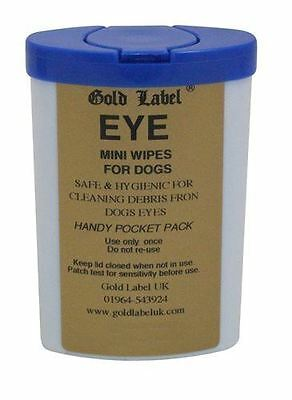 Gold Label - Dog Eye & Nose Wipes x 100 Pack