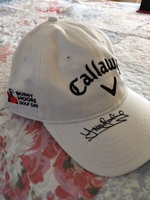 Trevor Brooking signed BM Golf Cap