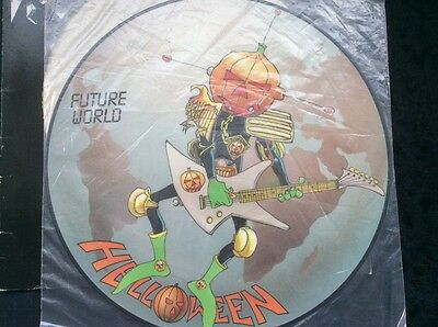 """Helloween RARE - """"Future World"""" 12"""" Maxi Picture Disc - West Germany"""