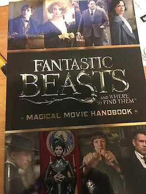 Fantastic Beasts and Where to Find Them : Magical Movie Handbook -NEW SOFTCOVER