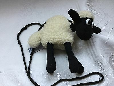 wallace and gromit sheep shoulder purse