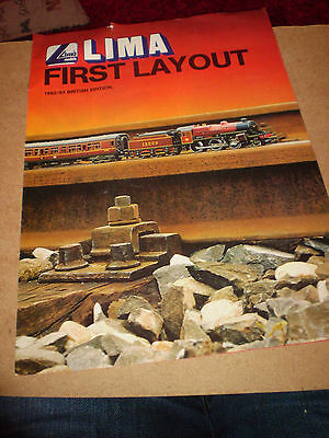 Lima Model Railways Track Layouts 1982/83 Edition Excellent For Age