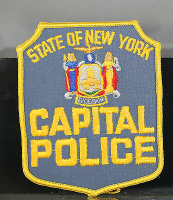 Obsolete State Of New York Capital Police Shoulder Patch