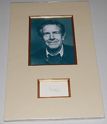 John Cage composer, musician, Buddhism interest, autograph
