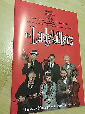 DARLINGTON CIVIC Theatre Programme THE LADYKILLERS 1999