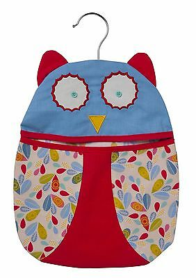 Ulster Weavers Owl Peg Bag Washing Clothes Pegs Hanging Gift 737OWL