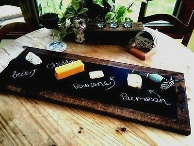 Chalkboard Party / Serving Tray Handcrafted! Autumn Party Decor!