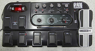 Line 6 Floor Pod Plus Multi-Effects Pedal & Power Supply PD-1762