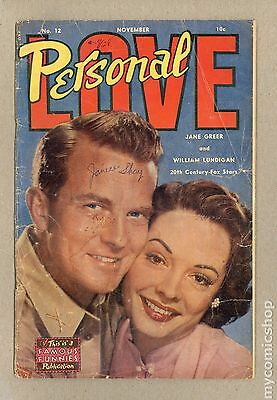 Personal Love (1950) #12 FR 1.0 LOW GRADE