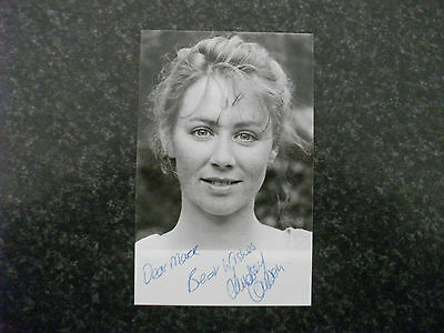 eastenders lindsey coulson  autographed photo