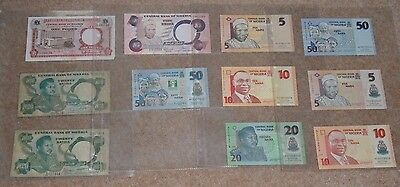 11x banknotes from Nigeria
