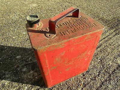 Shell petrol can - vintage