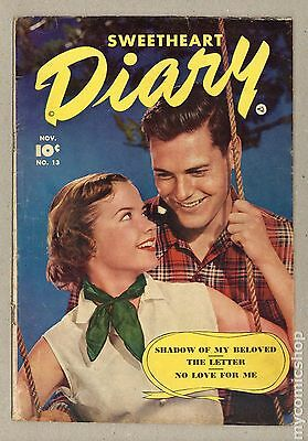 Sweetheart Diary (1949) #13 GD 2.0 LOW GRADE