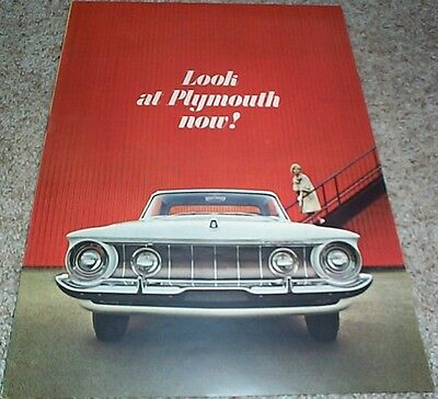 1962 Plymouth Full Size Brochure Fury Belvedere Savoy & Wagons + Bonus Item