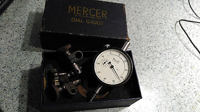 antique Mercer dial gauge